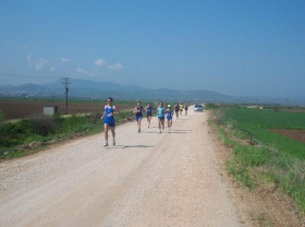 Ημιμαραθώνιος δρόμος την Κυριακή