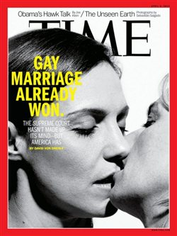 «Ο γάμος των ομοφυλόφιλων έχει κερδίσει, η Αμερική μίλησε» λέει το Time