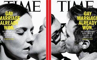 Το διπλό εξώφυλλο του «Τime» για τη «νίκη» των ομοφυλοφίλων!