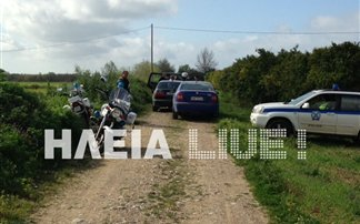 Βρέθηκε νεκρός άνδρας σε χωράφι στην Αμαλιάδα