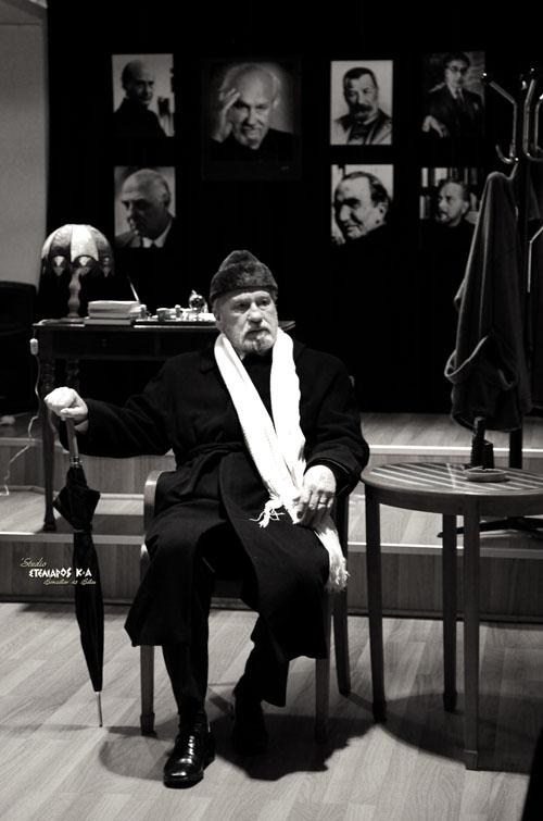 Ο Βολιώτης ηθοποιός Βασίλης Μητσάκης σε έργο του Ιάκωβου Καμπανέλλη