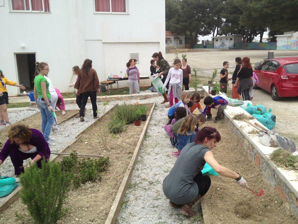 Φύτευση κήπου και παρασκευή παραδοσιακής κολοκυθόπιτας