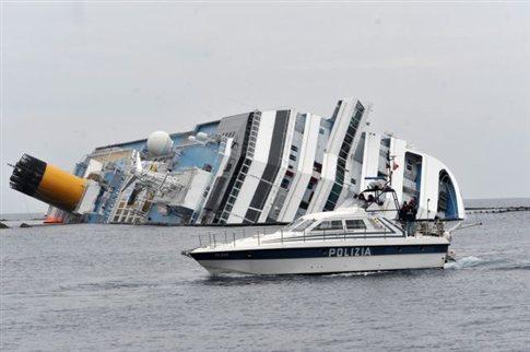 Πρόστιμο ενός εκατ. ευρώ για την πλοιοκτήτρια εταιρεία του Costa Concordia