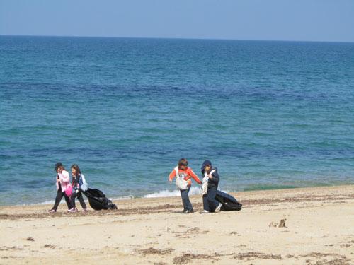 Εκστρατεία καθαριότητας στα νησιά