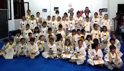 Πήραν τις ζώνες τους οι αθλητές του TAE KWON DO στη Σκιάθο