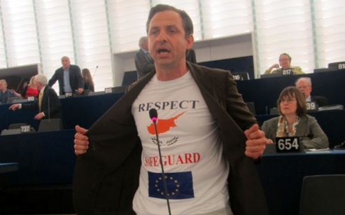 Δυνατό μήνυμα για την Κύπρο από ομογενή ευρωβουλευτή της Γερμανίας