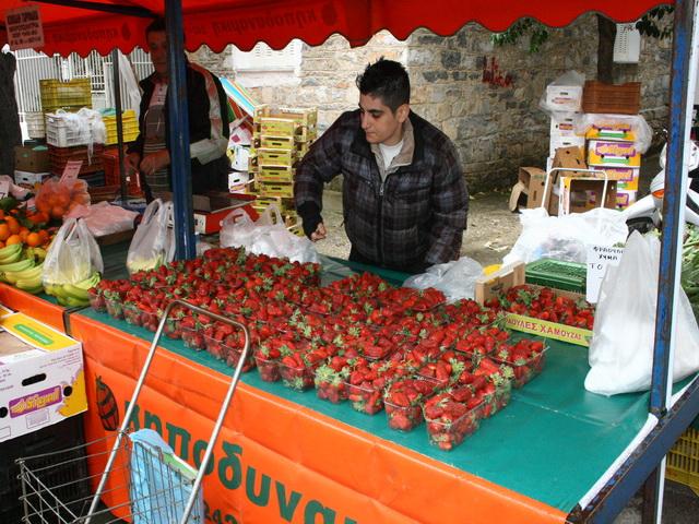 Σαμποτάρισαν τις «ματωμένες φράουλες»