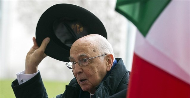 Ιταλία: Επανεξελέγη πρόεδρος της Δημοκρατίας ο Ναπολιτάνο