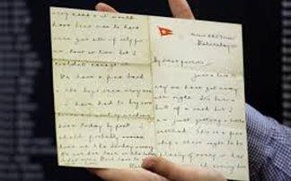 Πωλήθηκε γράμμα από τον Τιτανικό για 142.000 δολάρια