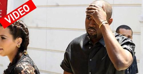 Έπεσε πάνω σε ταμπέλα ο Kanye!