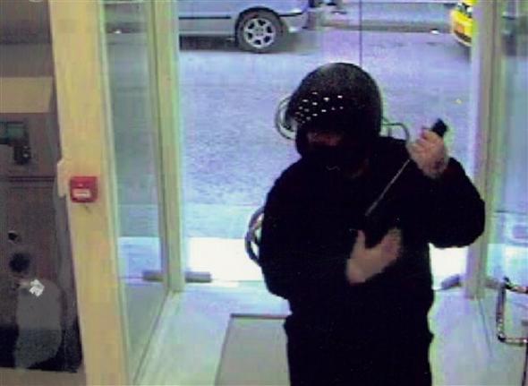 Λάρισα: Ένοπλη ληστεία σε τράπεζα