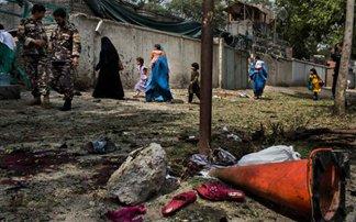 Ανάληψη ευθύνης για την επίθεση αυτοκτονίας στην Καμπούλ