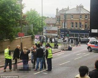 Τρομοκρατική επίθεση στο Λονδίνο. Αποκεφάλισαν στρατιώτη