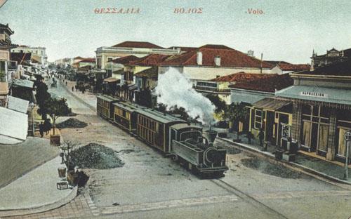Γρηγόρης Καρταπάνης: ΑΝΤΙΠΑΡΑΘΕΣΕΙΣ ΣΤΟ ΒΟΛΟ ΤΟΥ 1905
