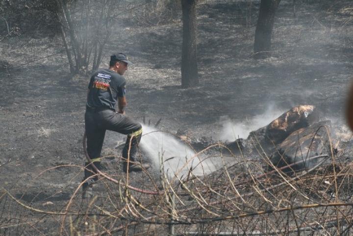 Μεγάλης έκτασης φωτιά στις Γλαφυρές