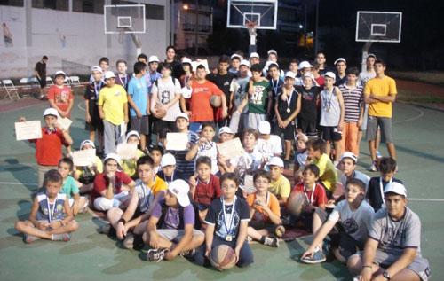 Καλοκαιρινό εσωτερικό τουρνουά από τον ΓΣΒ  για τις  ακαδημίες μπάσκετ