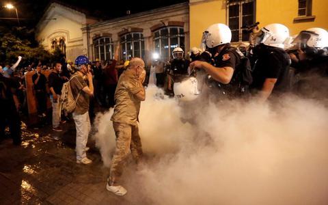 Ερντογάν: Ποια είναι η βία της αστυνομίας; Το σπρέι πιπεριού;