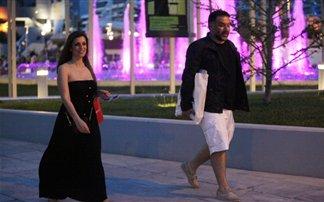 Γρηγόρης Αρναούτογλου-Κατερίνα Κόκλα: Για ψώνια λίγο πριν γεννήσει