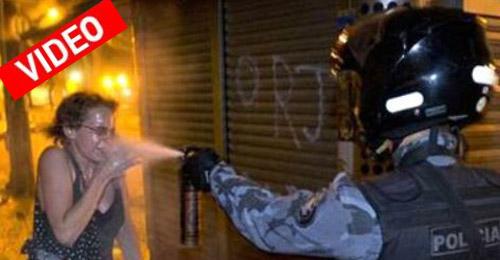 Βία και αίμα στους δρόμους της Βραζιλίας