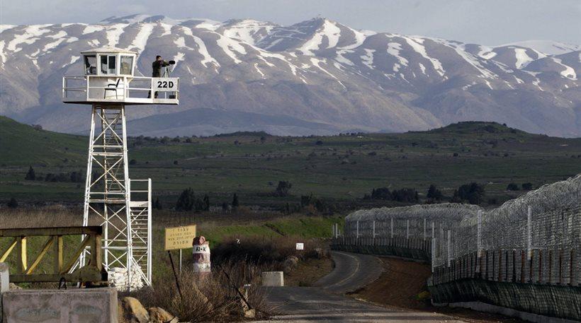 Συριακή οβίδα εξερράγη στο Ισραήλ