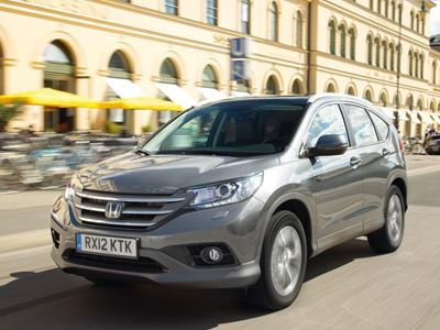 Το φθινόπωρο στην Ελλάδα το Honda CR-V 1.6 diesel