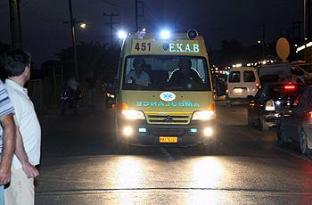 Σύγκρουση μοτοσυκλετών με σοβαρό τραυματισμό στην Αγιά Λάρισας