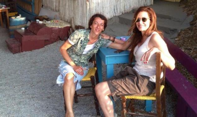 Άννα Βίσση: Διακοπές στη Σκιάθο με την κόρη της Σοφία!