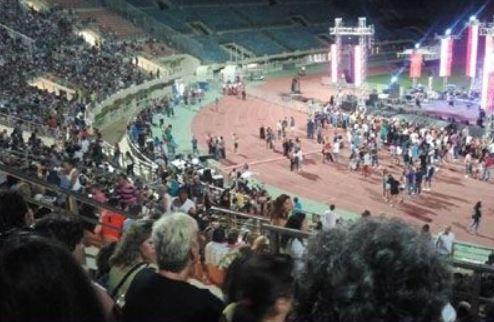 Λίγο πριν τη συναυλία του Π. Τερζή στο Ηράκλειο