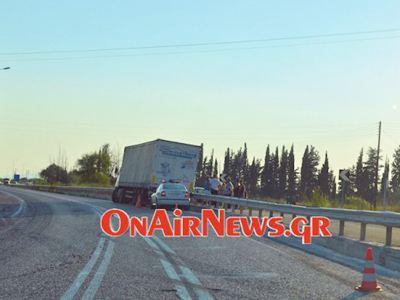 Οκτώ τραυματίες από πάγκο με καρπούζια σε «Εθνική Οδό»