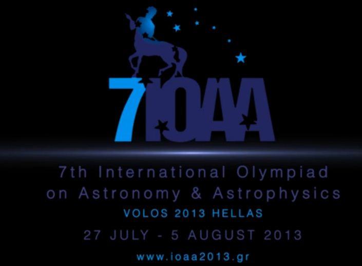 Τελετή έναρξης, 7η Διεθνής Ολυμπιάδας Αστρονομίας-Αστροφυσικής