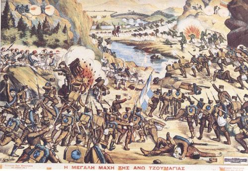 Γρηγόρης Καρταπάνης: Ποιήματα από τους Βαλκανικούς πολέμους του λαϊκού ζωγράφου Νίκου Χριστόποπουλου