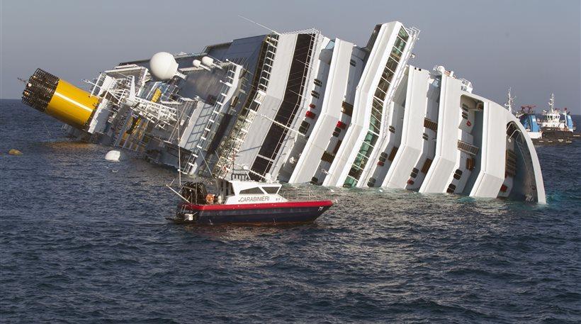 Αναβλήθηκε πριν καν ξεκινήσει η δίκη για το ναυάγιο του Concordia