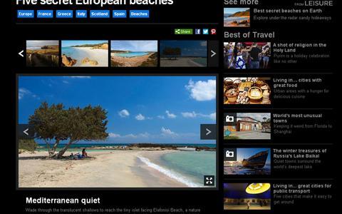 BBC: Ελαφονήσι, μία από τις πέντε «μυστικές» παραλίες της Ευρώπης