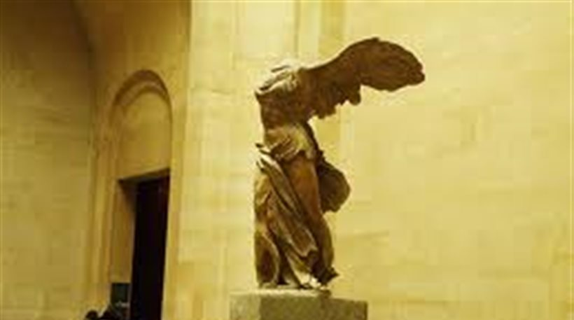 H Νίκη της Σαμοθράκης αποκτά νέο χέρι και φτερό