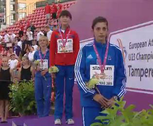Μετάλλιο και ρεκόρ από τη  Βολιώτισσα  Αναστασία Καρακατσάνη