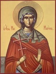 Πανηγυρίζει η Αγία Μαρίνα