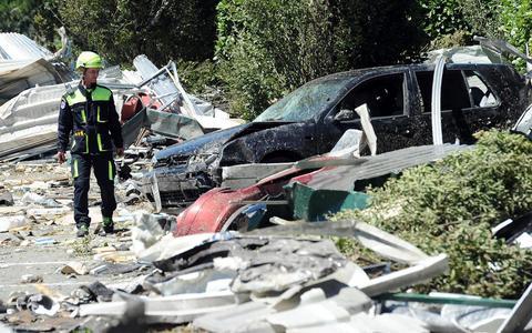 Τεράστιες καταστροφές στο Μιλάνο από ανεμοστρόβιλο