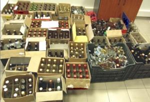 Τρεις συλλήψεις στη Λάρισα για λαθραία ποτά