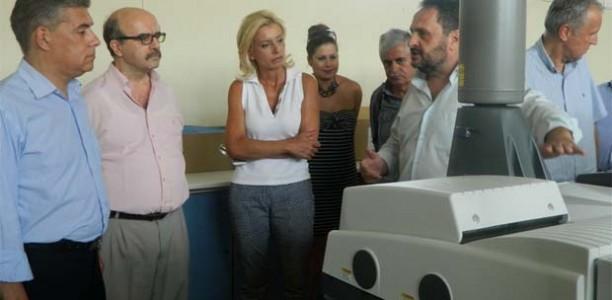 Το νέο υπερσύγχρονο εξοπλισμό του ΤΕΙ Λάρισας είδαν από κοντά Αγοραστός – Καραλαριώτου