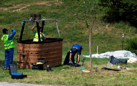 Ελβετία: Αμερικανός σκοτώθηκε από συντριβή αερόστατου