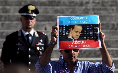 Ιταλία: Συνεδριάζει η Γερουσία για την αποπομπή του Μπερλουσκόνι