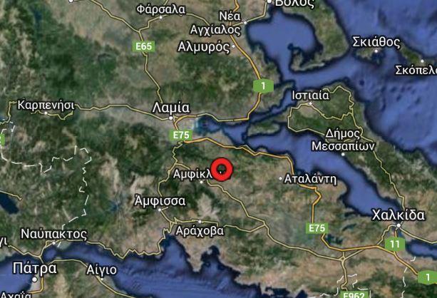 Σεισμός 4,8 βαθμών πριν λίγο