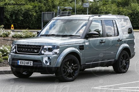 Land Rover Discovery 2014: Ανανέωση εκ των έσω