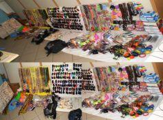Συλλήψεις Μπαγκλαντεζιανών μικροπωλητών στα παράλια της Λάρισας