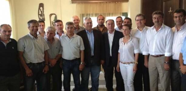 Χαρακόπουλος: «Δίνουμε λύσεις σε χρόνια προβλήματα των κτηνοτρόφων»