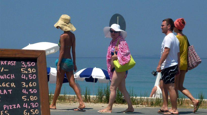 Αύξηση 21% στις τουριστικές εισπράξεις τον Ιούνιο