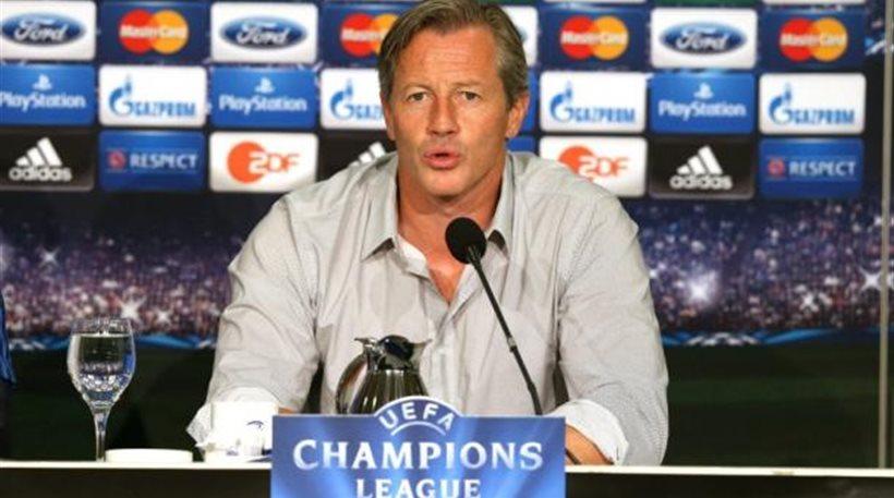 «Παίζουμε με τον ΠΑΟΚ όχι με τον Στέφενς» δηλώνει ο προπονητής της Σάλκε