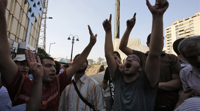 Λίγες εκατοντάδες ισλαμιστές διαδήλωσαν σήμερα στην Αίγυπτο