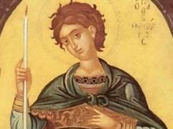 Τη μνήμη του Αγίου Μεγαλομάρτυρος Φανουρίου εορτάζει η Εκκλησία μας την Τρίτη 27 Αυγούστου. Στην Ιερά Μητρόπολη