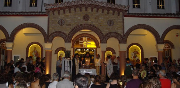 Γιόρτασαν τη μνήμη του Αγίου Μεγαλομάρτυρα Φανουρίου